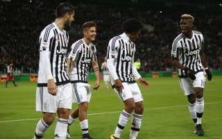 Frosinone v Juventus: Cuadrado not thinking of Napoli test