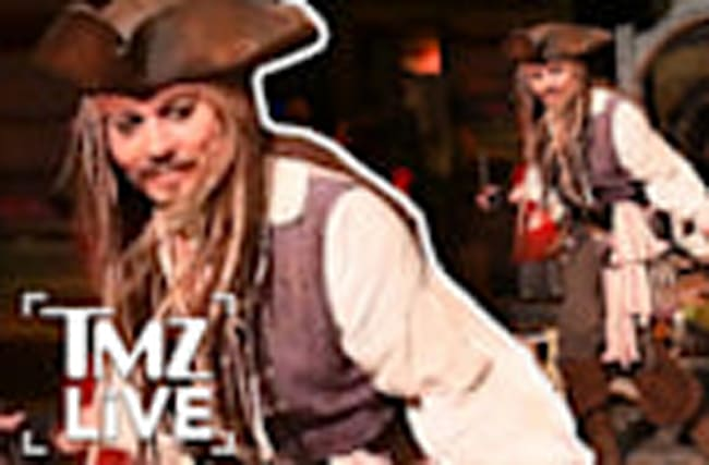 Johnny Depp: Disneyland Surprise I TMZ LIVE