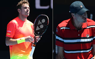 Australian Open: Stan's 's***' talking, Isner's smashing