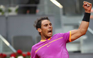 Nadal dominates one-sided Kyrgios clash