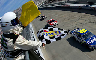 Johnson gets historic win at Dover