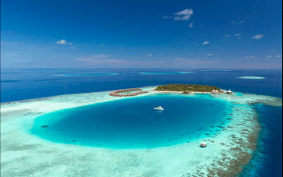 The most romantic resort in the Indian Ocean (and possibly the world)