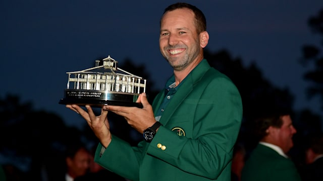 Spain's Sergio Garcia wins US Masters to end long major drought