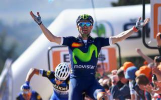 Valverde eyes Giro and Olympic double