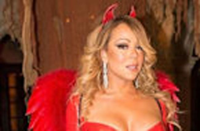 Mariah Carey Wears Sexy Devil Costume to Celebrate Halloween With Ex Nick Cannon & Their Twins