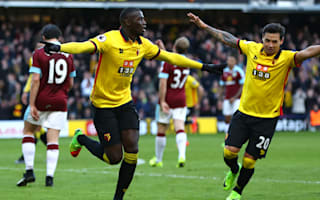 Watford 2 Burnley 1: Deeney and Niang punish early Hendrick red