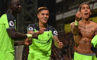 Henderson hails 'world-class' Liverpool attack