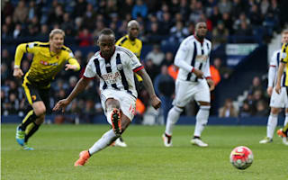 Arsenal v West Brom: Fletcher tips Berahino to hit the spot next time