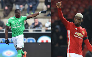 Florentin Pogba beat brother Paul last time out... at table tennis