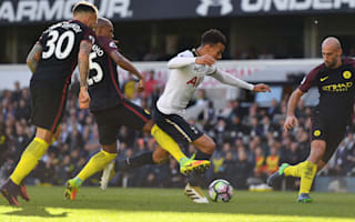 Alli thrilled with Spurs 'statement'
