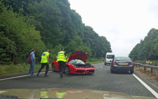 Test drive customer crashes Ferrari 458 Speciale