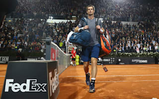 Murray crashes out as Djokovic wins Rome opener