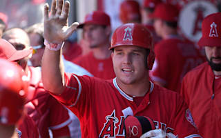 Angels' Trout wins AL MVP for second time