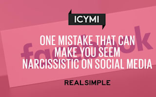 One mistake that can make you seem narcissistic on social media