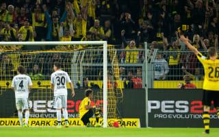 Borussia Dortmund 3 Freiburg 1: Aubameyang marks landmark game with goal