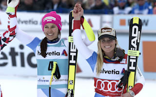Gut seals first overall title, Holdener takes combined globe