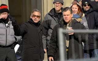 George Clooney and Matt Damon surprise guests at Pontins in Camber Sands