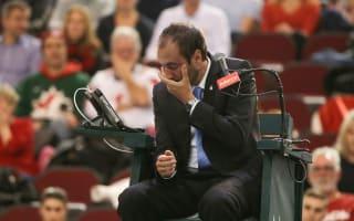 Umpire left 'looking like Rocky Balboa' by Shapovalov