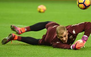 Guardiola: No decision on Hart's Manchester City future