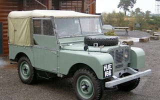 Winston Churchill's Land Rover: bought for £320, to be sold for £60,000