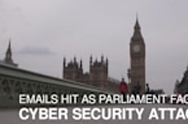 Emails hit as Parliament targeted by cyber security attack