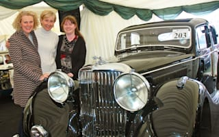 Four women spend £70,000 to bring grandfather's Jaguar home
