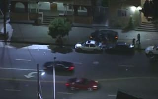 Los Angeles police chase ends in crash