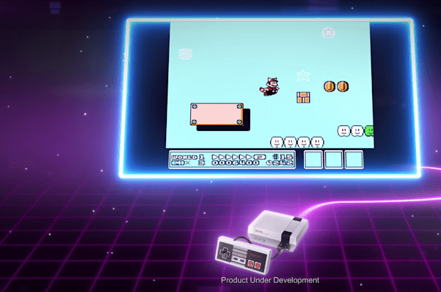 El anuncio de la nueva NES Mini te llevará a los 80
