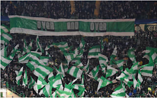 Celtic fined for Manchester City crowd trouble