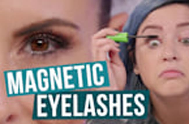 Do Magnetic Eyelashes WORK!? (Beauty Break)