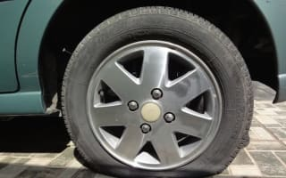 Mystery vandals slash over 100 car tyres in south Wales
