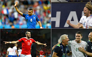 Euro 2016's top five moments so far: Payet cries a river as newcomers steal the show