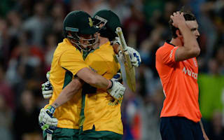 Proteas sneak home in last-ball thriller