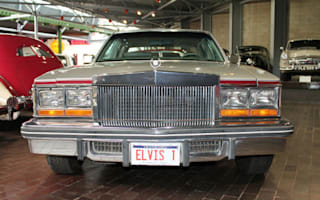 Elvis's classic 1977 Cadillac goes on display
