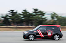 Kia's self-driving Soul