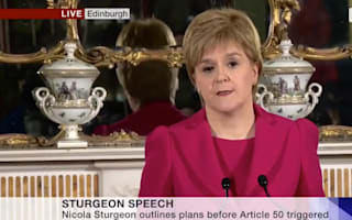 Scotland's First Minister Nicola Sturgeon plans second independence referendum