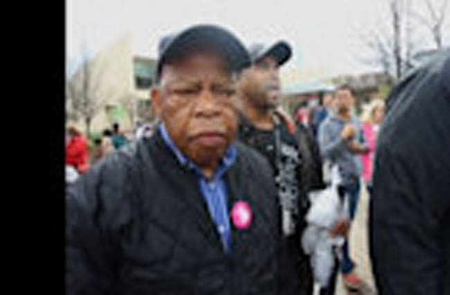 Congressman Lewis: Women's Marches 'Gratifying'
