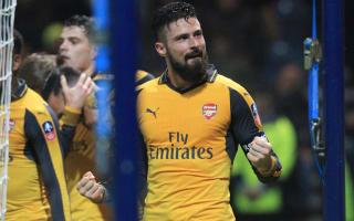 Wenger: Giroud deserved captaincy