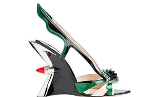 Prada reveals heels for petrolheads. Sort of.