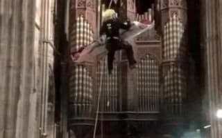 Bellringer rescued from 80ft Worcester Cathedral bell tower
