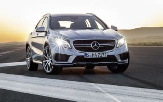 Mercedes takes wraps off its red hot GLA 45 AMG crossover