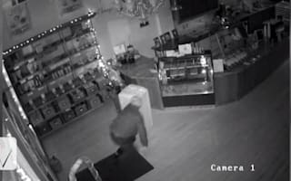 Shop offering £400 chocolate reward to catch burglar