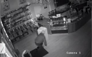 Shop offering £400 chocolate reward to catch burglar