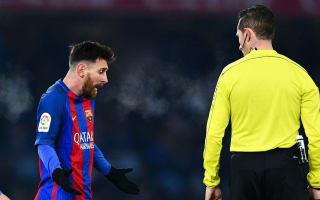 Messi's behaviour is impeccable - Luis Enrique defends banned Barcelona star