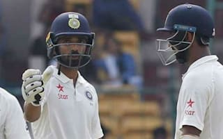Series-high stand from Pujara and Rahane puts India in charge