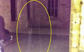 'Ghost' spotted at Alton Towers