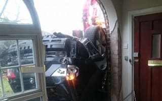 Car crashes into home but insurers say it's 'not an emergency'
