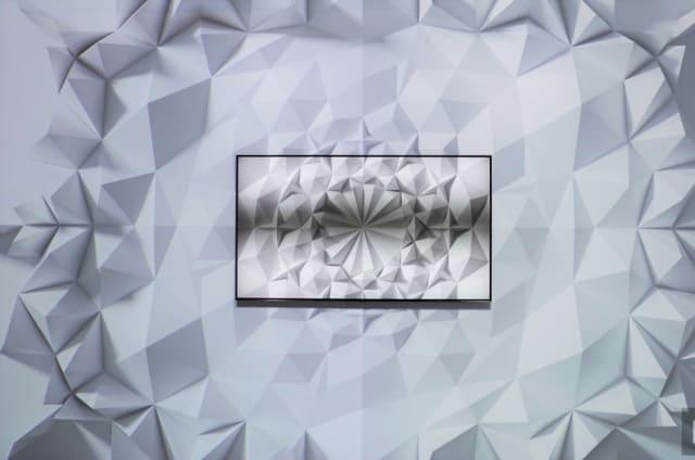 Las nuevas televisiones QLED de Samsung se camuflan en la pared