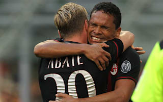 AC Milan 3 Torino 2: Bacca hat-trick earns win for Montella as visitors pay penalty