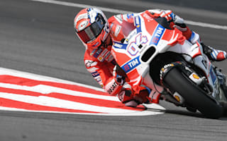 Dovizioso dominates at soggy Sepang